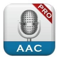 【iPhone,iPad】ボイスメモ&会議記録「AAC-レコーダー」が今だけ無料
