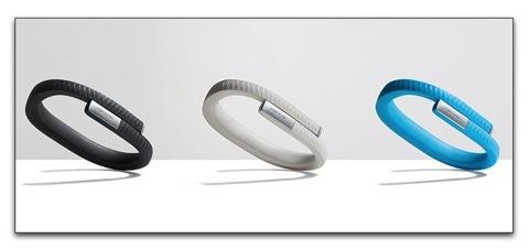iPhoneアプリで管理、ライフログリストバンド「UP by Jawbone」の出荷案内が来た