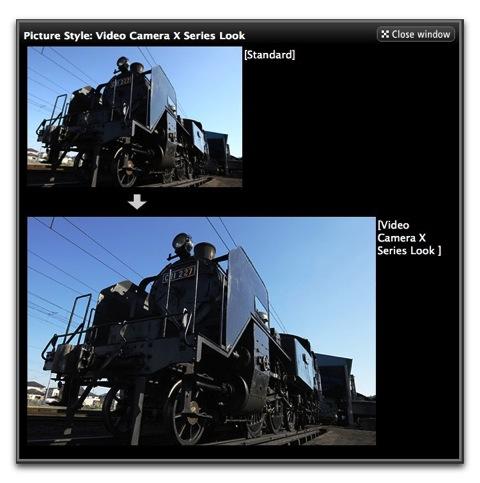【Mac】キヤノン、NEWピクチャースタイル「Video Camera X Series Look」をリリース