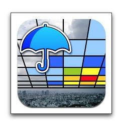 【iPhone,iPad】現在地の周囲5kmの雨量情報をリアルタイム表示「Go雨!探知機 -XバンドMPレーダ-」