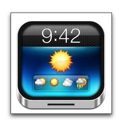 【iPhone,iPad】ロック画面に天気予報を表示「Weather Lock Screen Pro」が初の無料化