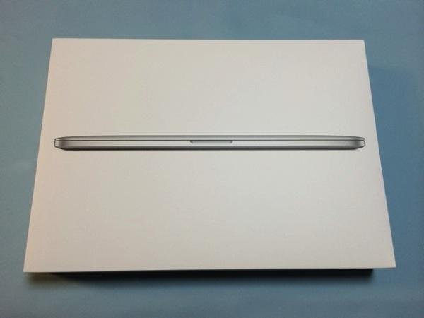 MacBook Pro Retina 15インチ(Late 2013) 開封の儀