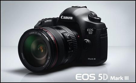 CANON「EOS 5D Mark III ファームウエア Version 1.2.3」を公開