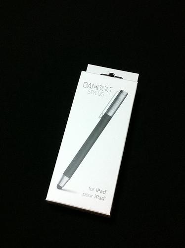 ワコムのスタイラスペン「Bamboo Stylus」が届いた