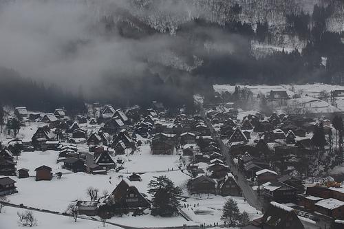 二年連続で冬の白川郷へ(お昼間編)