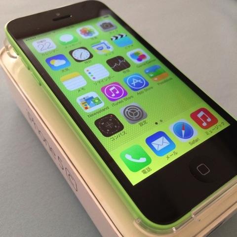 【iPhone 5c】何だか今年はハズレに当たるな〜