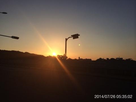 今日(2014.07.26)のウォーキング