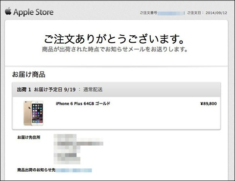 iPhone 6 Plus用のハードケースとウエストポーチ型レザーケースを購入