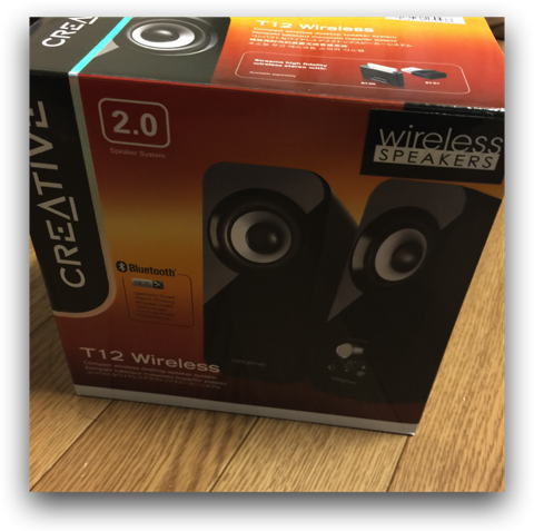 【Mac,iPhone,iPad】Bluetooth Speaker「Creative T12 Wireless」はコストパフォーマンスに優れていた