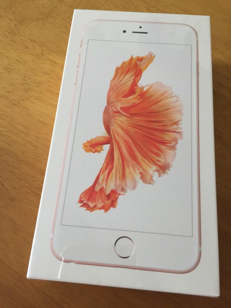 Apple Online Storeで予約したiPhone 6s Plusが到着しました