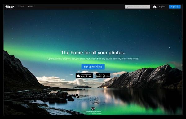 iPhoneやMacから自動アップロード出来る写真共有&バックアップ「flickr」の登録と初期設定