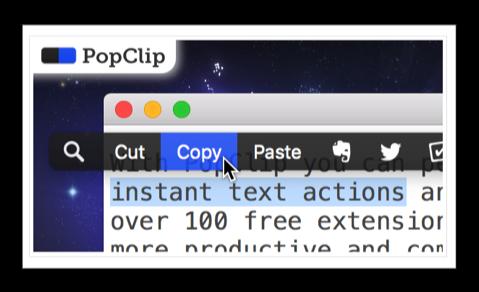 【Sale情報】Macの拡張クリップボードマネージャーの「PopClip」が、Two Dollar Tuesdayとして70%オフ