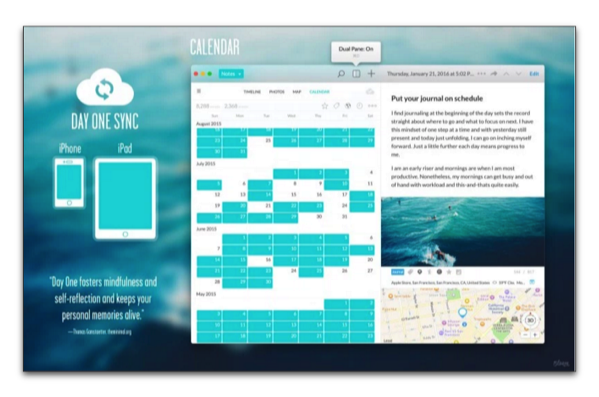 【Mac/iOS】人気の日記アプリ「Day One 2」は2月4日にメジャーアップデートされますが・・・