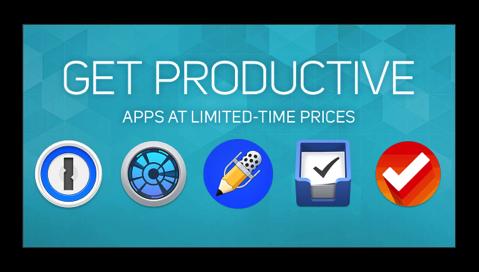 Apple、Mac App Storeで「GET PRODUCTIVE」を開催で16個の仕事効率化アプリを期間限定で50%オフ