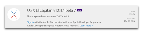 OS X El Capitanb7 001