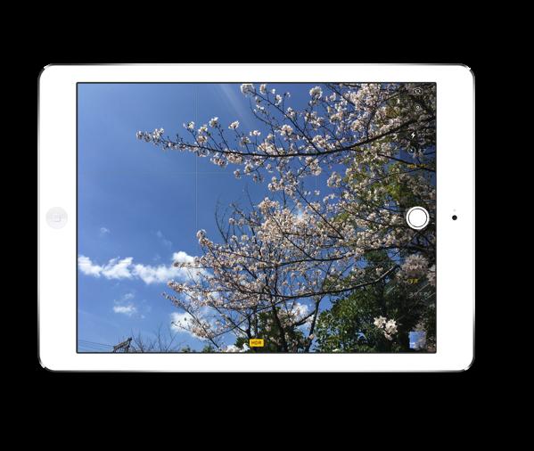 True Toneディスプレイを搭載した「9.7インチiPad Pro」の12MPカメラを使わない手はない!