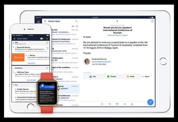 【iOS】人気のメールアプリ「Spark」がバージョンアップでスヌーズ・ピン留めのバッチ処理