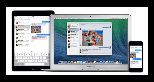 MacとiPhone,iPadなどのiOSデバイスの連携(その5:SMS)