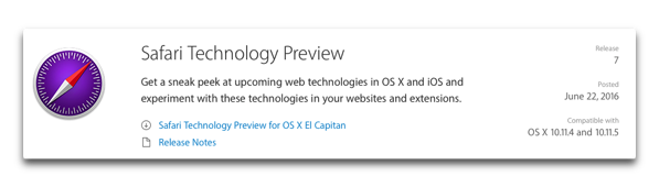 Safari Technology Preview913 002
