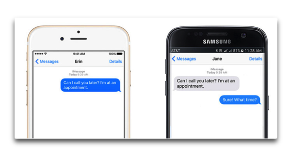 IMessage for Android 001