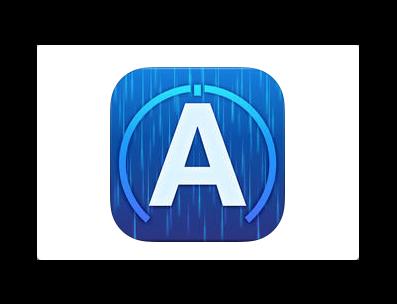 【iOS】リアルタイム降雨情報「アメミル」がバージョンアップで雨レーダーの解像度がアップ
