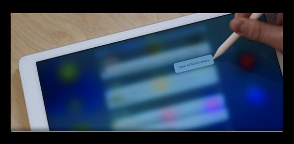 「iOS 10」はApple Pencilで「iPad Pro」に3D Touchをもたらすかも?