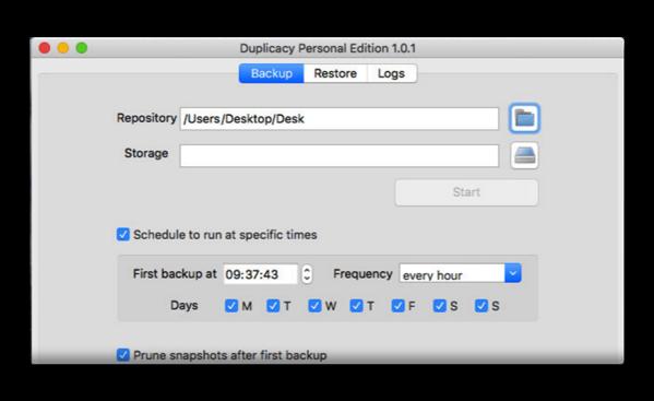 【Mac】クロスプラットホームのクラウドバックアップツール「Duplicacy」は無料