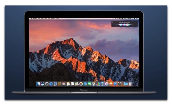 「macOS Sierra beta 5」には新しいデスクトップピクチャーが追加されている