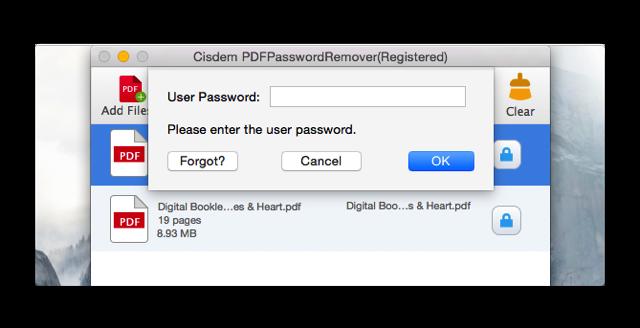 Cisdem PDFPasswordRemover 003