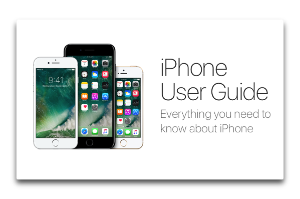 Apple、「iPhone User Guide for iOS 10」「iPad User Guide for iOS 10」のWeb版とiBooks版を公開