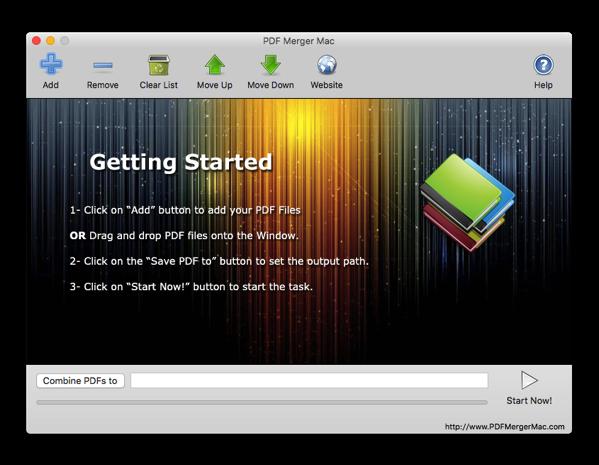 【Mac】単一のファイルに複数のPDFファイルをマージ「PDF Merger Mac」(無料)がリリース
