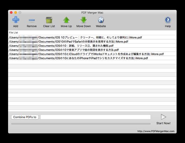 PDF Merger Mac 006
