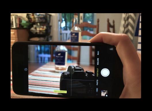 【iPhone 7 Plus】iOS 10.1 betaの新機能、カメラの「ポートレート」モードのハンズオンビデオ