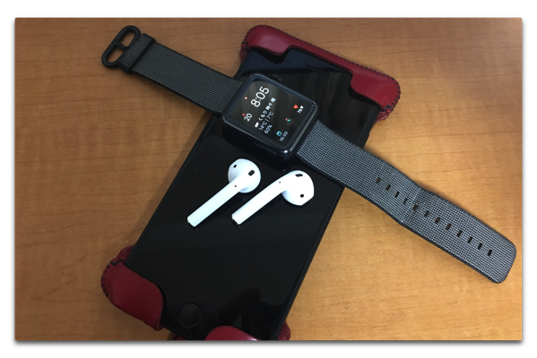 「AirPods」、iPhone + Apple Watch の連携が衝撃的で久々にワクワクした!