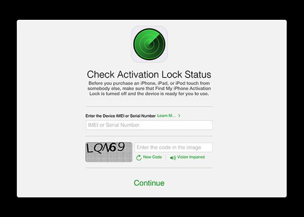 Appleは、何故Webサイトから「Check Activation Lock Status」を削除したのか?