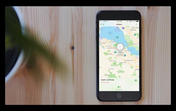 「iOS 10.3」での新機能「AirPodsを探す」のハンズオンビデオ、アラーム音は「ちっさ〜!」