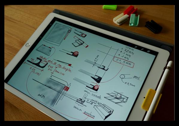 なぜこんな簡単なものが発売されなかったのか?iPad ProにApple Pencilをクリップするアクセサリー