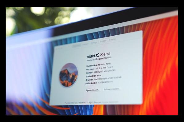 新機能Night Shiftモードの「macOS Sierra 10.12.4 beta」のハンズオンビデオが公開