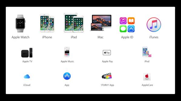 Apple、「Mac」に関するサポート文書を公開(最終更新日:2017年1月11日付)