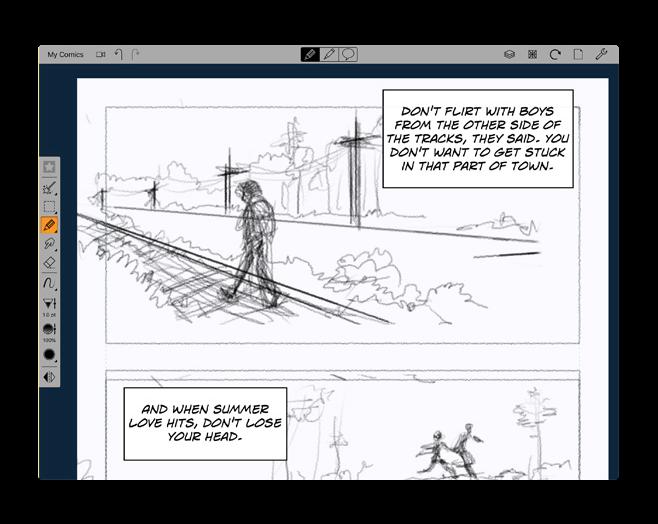 Comic Draw 002
