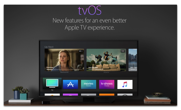 Apple、Apple TVのWebページを新しくしています