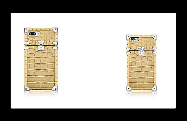 ルイ・ヴィトンは、iPhone 7/7 Plusケース「ゴールデン・クロコダイルレザー」を発売