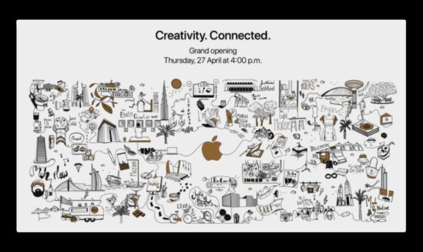 Apple、ドバイの最新小売店舗開店日を明らかに
