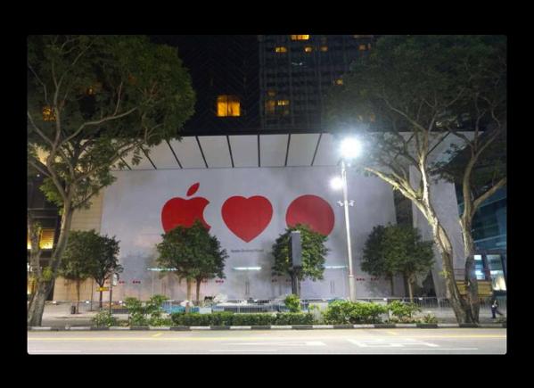 Apple、シンガポールで初のApple Storeを開店へ