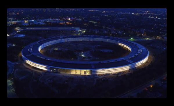 Appleの巨大な新しいキャンパス、Apple Parkの最新の映像は「Sunset flight」
