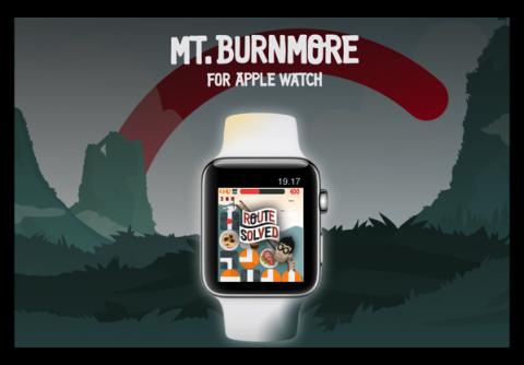 実に「Apple Watch」らしいゲーム、カロリーを燃焼エネルギーに変換する「Mount Burnmore」