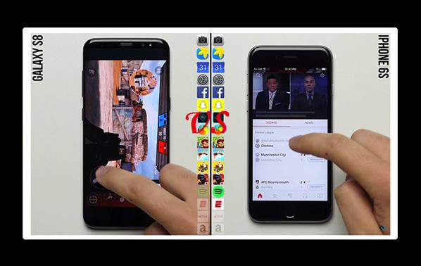 発売後2年経過した「iPhone 6s」は、Samsung 「Galaxy S8」をスピードとメモリ管理で凌駕する