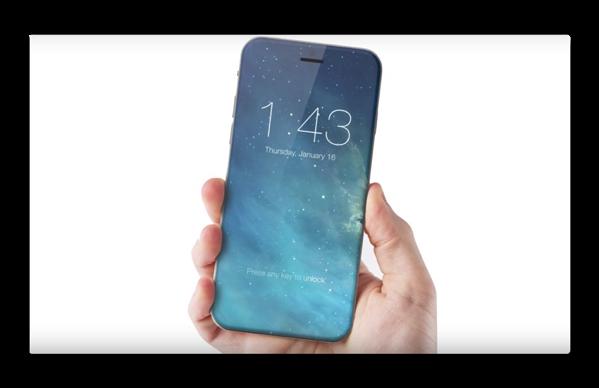 「iPhone 8」は指紋センサーをディスプレイに統合