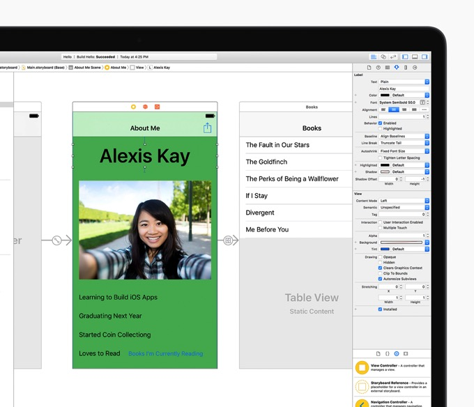 Swift uikit macbook 2