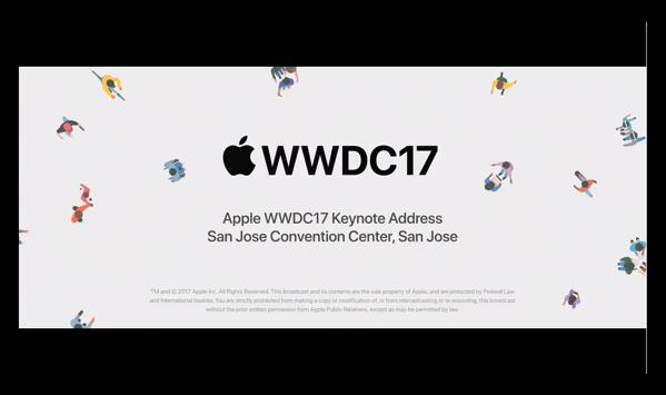 Apple、「WWDC 2017 Keynote」をYouTubeで公開